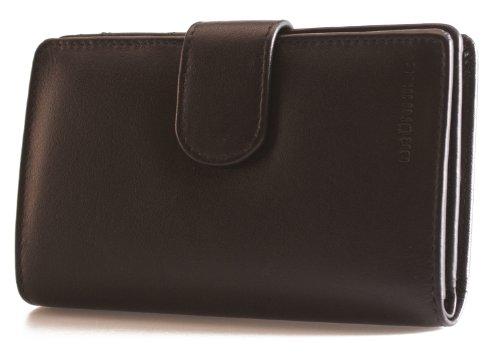 Brunhide - Borsa in vera pelle - disponibile in diversi colori # 207-300 - Bacca Nero