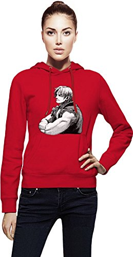 Graphic Ken Illustration Capuche Femme Small