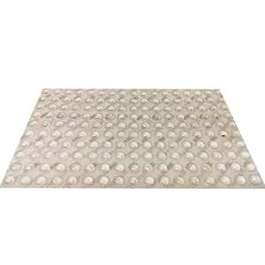 3M Bumpon SJ 5302 tampon élastique tampon meubles tampon amortisseur arrêt auto-adhésives transparentes 68 pièces