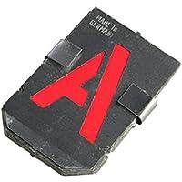 Bonum - Plantillas de letras A-Z (27 piezas, 60 mm, juego completo en DIN 1451, fabricado en Alemani