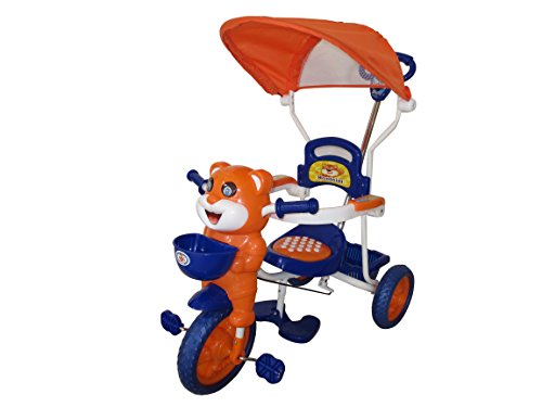 HLX-NMC HAPPY TIGER KIDS ROCKING TRICYCLE - BLUE/ORANGE (EASY ASSEMBLY EDITION)  available at amazon for Rs.2550
