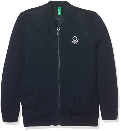 united-colors-of-benetton-l-s-sweater-pull-garcon-bleu-navy-6-7-ans-taille-fabricant-small
