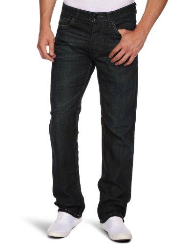 JACK & JONES Herren Jeanshose Schwarz Schwarz, gebraucht gebraucht kaufen  Wird an jeden Ort in Deutschland