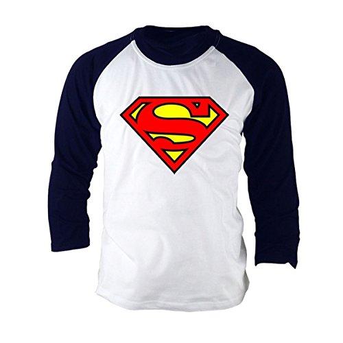 Supereroe Superman Completo da Baseball le magliette