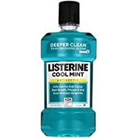 Listerine Antiseptic Mouthwash Cool Mint 1 lt. (Mundspülungen) preisvergleich bei billige-tabletten.eu