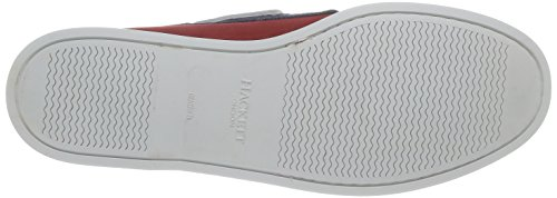 Hackett London Bi Colour Dockside - Chaussures de sport pour homme Rouge / Marine