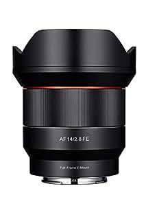 SAMYANG AF–Objectif pour Sony FE (14mm f2.8, AS IF UMC), noir