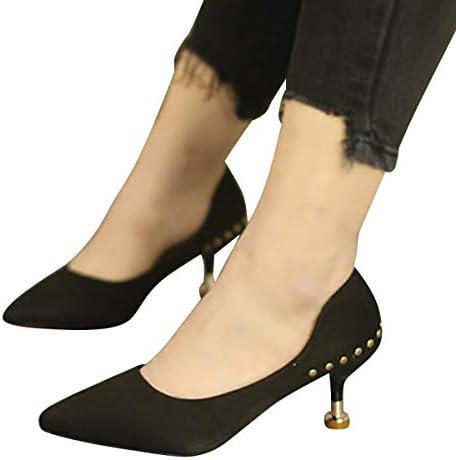 KOKQSX-già KOKQSX-già KOKQSX-già medio e di 5 cm wild superficiale high heeled scarpe. trentotto nero B07H6J9GND Parent | qualità regina  | vendita all'asta  8dea77