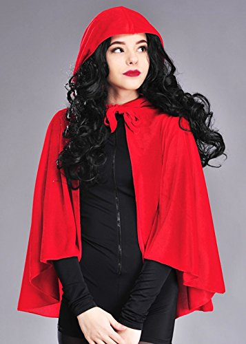 ed Riding Hood Cape (Velvet Red Riding Hood Kostüme)