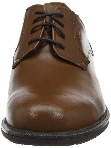 Rockport Essential Details II Plain, Derbys Homme Marron (Tan)