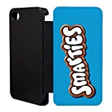 Süße Schoko Verpackung Flip bedruckt Telefon Flip Case Hülle für Apple iPhone 6 - 6S - Smarties - T776