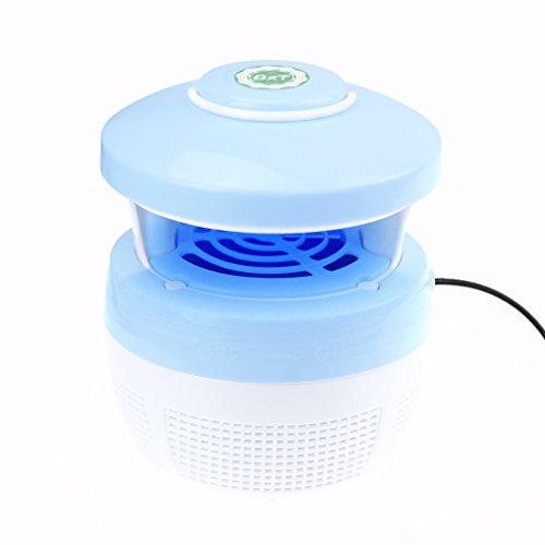 Elektrische LED Ultravioletter Insektenvernichter Lichter, Indoor USB Anti-Mosquito UV Lampe, Frei von Chemikalien für Home Küche Baby Schlafzimmer Garten, Ruhig Insektenfalle UV Mückenlampe (Elektrische Bug Repeller)