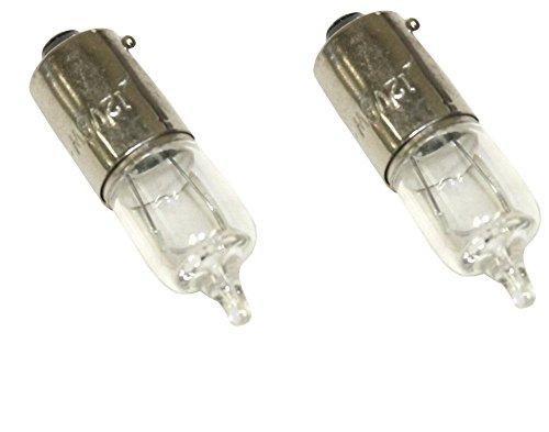 Jeu de 10 Ampoules H6W 6W 12V /à ergots d/écal/és pour Auto Voiture AERZETIX