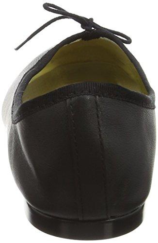 French Sole India Leather, Ballerines femme Noir (noir)