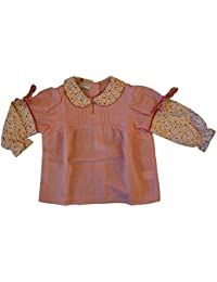 Papermoon. Girls Cotton Blouse Top Colour Pink Age 9 Months