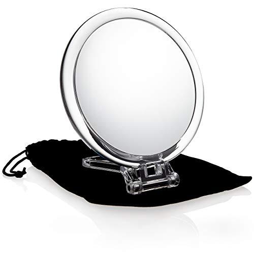Fantasia Viaje Espejo, acrílico, 10aumentos, diámetro: 16cm, con funda, longitud 19/29,5cm