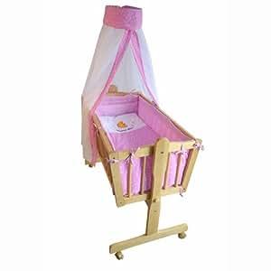 « Honey Bee » – Berceau bébé complet -- lit bébé -- lit de salon -- rose -- 51365-03