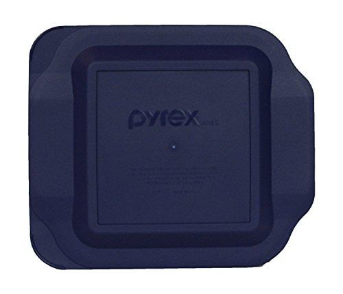 Pyrex Blue Plastic Lid for 2 Quart 8-inch Square Baking Dish #222-PC by Pyrex Blue Square Dish