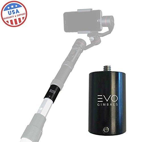 EVO Malerstange PA-100 für 1/4-20 Stativgewinde / Adapter - funktioniert mit den meisten Kameras und kardanischen Aufhängungen -