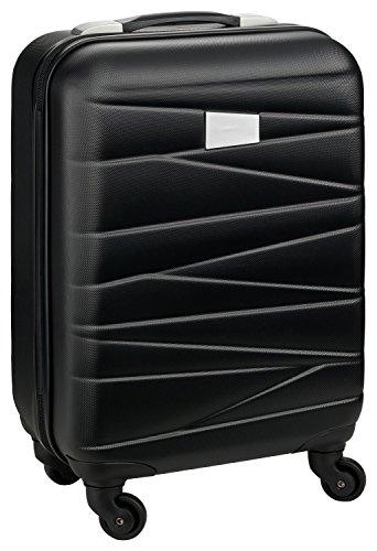 HEIMWERT Kabinentrolley PADUA Premium Hartschalenkoffer in Handgepäck Maßen - Robustes Bordcase auf Rollen mit Zahlenschloss und beidseitigen Packmöglichkeiten-100% Boarding Size auch für Low-Budget-Fluglinien