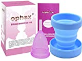 Ophax Copa Menstrual talla S + esterilizador gratis , ophax es echa de...