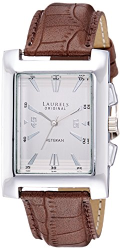 Laurels Imperial 2 Analog Silver Dial Men's Watch ( Lo-Imp-201)