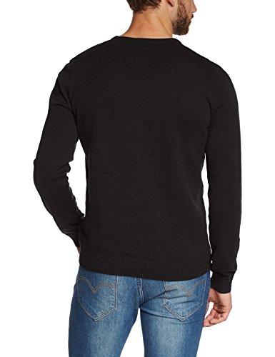 Blend - Pull - Col Ras Du Cou - Manches Longues Homme Schwarz (Black 70155 Black)