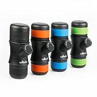 Wancle Mini Portable Espresso Maker Machine Coffee Maker Travel for Camping + 3 Color Silicone Case