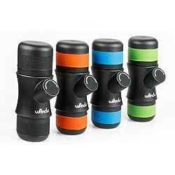Wancle Mini Espresso portatile Maker Machine caffè viaggio per Case campeggio + 3 colori del silicone
