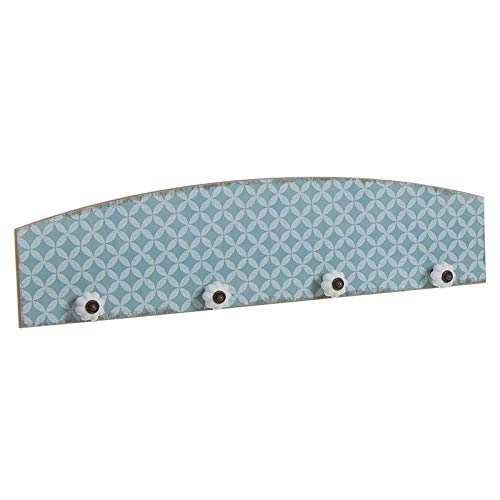 Makingifts Perchero Mosaico Azul 60 cm