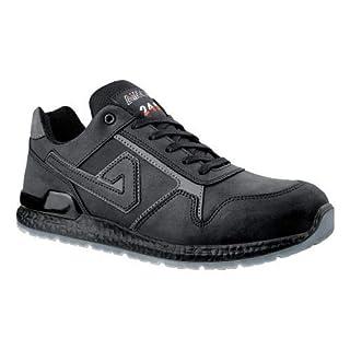 Aimont Calvin S3 Anti-Slip Aluminium Toe-Cap Leather Safety Trainer (7 UK)