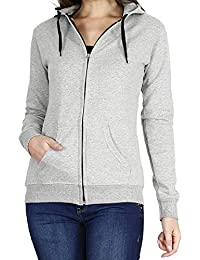 Prokick Women's Cotton Sweatshirt/Hoodie