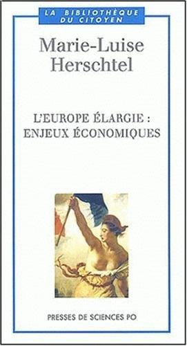 L'Europe largie : Enjeux conomiques
