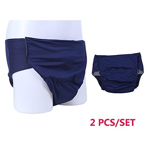 NEPPT Adulti copre pannoloni incontinenza intimo uomo e donna impermeabile panno pannolini Wrap  lavabile e riutilizzabile Heavy protezione