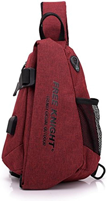 leisure Bolsa de mensajero al aire libre bolsa de mensajero de la mochila de carga de boca al aire libre impermeable...