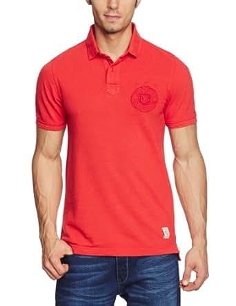 Hilfiger Denim Herren Poloshirt Gr. xs, Rot - Red - Rouge (Molten Lava)