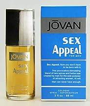 JOVAN Sex Appeal Eau De Cologne For Men, 88 ml