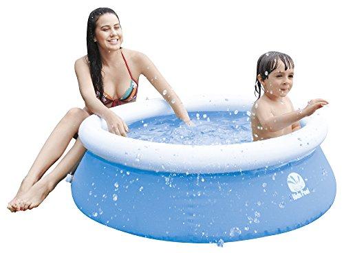 Jilong Kids Quick-Up Pool Ø 122 x 35 cm Kinderpool Fast-Set Swimming Pool Planschbecken Kinder Schwimmbecken Schwimmbad für Garten und Terasse