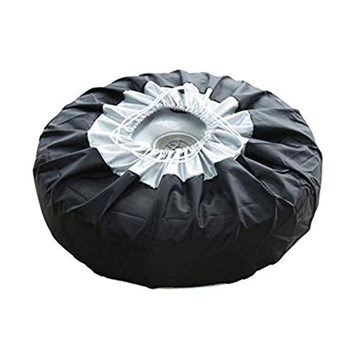 LanLan Copriruota di scorta fuoristrada, Borsa portapneumatico in panno Oxford antipolvere con manico, S: 65 * 37cm
