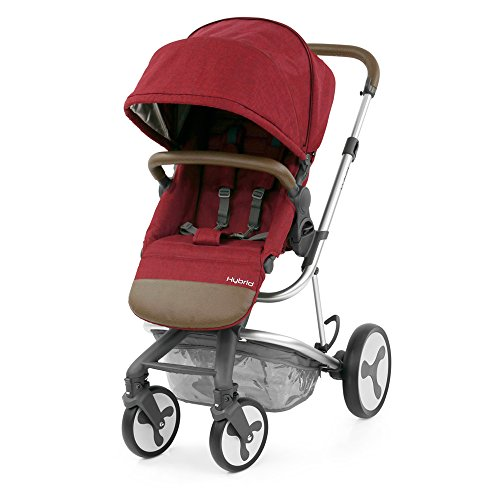 BabyStyle Hybrid Edge Stroller – Lava Red