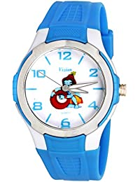 Vizion Analog Multi-Colour Dial (The Little Krishna-Stealing Butter) Cartoon Character Watch for Kids-V-8826-3-2