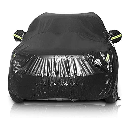 Sailnovo Telo Copriauto, Copertura Auto Protettiva, Copertura Auto Impermeabile per SUV, Adatto alla Pioggia, Neve, Brina, Polvere, Raggi Solari (530 * 200 * 150 cm)