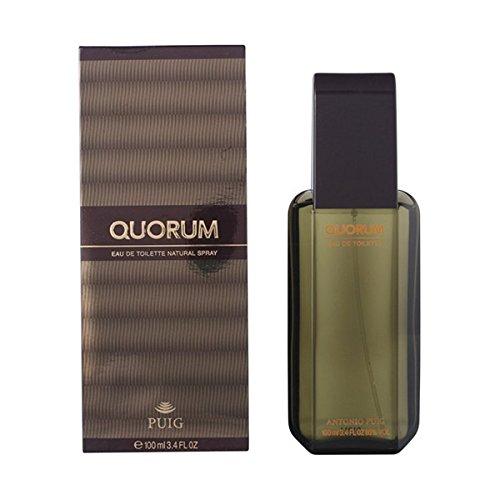Puig–Quorum von Antonio für Herren. Eau de Toilette Spray 3.4Oz/100ml