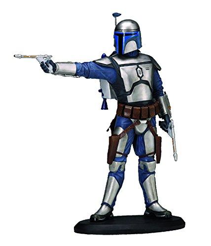 ATTAKUS-Star Wars Elite Jango Fett Statue, 3700472003512, 19cm (Fett Blaster Jango)