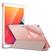 ESR Case for iPad 8th Generation (2020)/7th Generation (2019), Slim Case for iPad 10.2 [Auto Sleep/Wake Cover] [Flexible Back with Viewing/Typing Stand] Rebound Series,Rose Gold