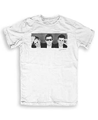 DTTMAH - LCD Soundsystem - Music T-shirts by Andrew Cotterill - white - S