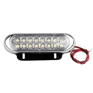 2X FEUX DE DIURNE JOUR ANTI-BROUILLARD 16 LED BLANC PR AUTO