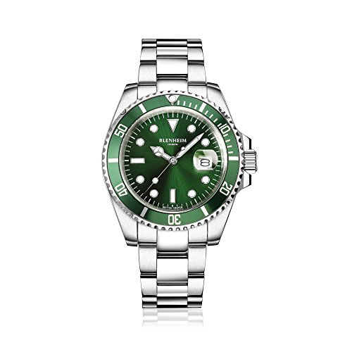 blenheim-londonr-navigator-luminous-saphir-verre-vert-dial-mens-watch