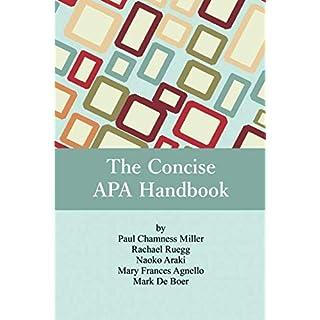 The Concise APA Handbook (NA)