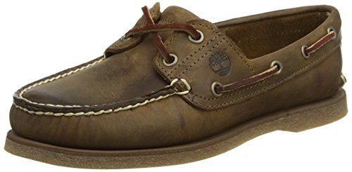 Timberland Classic 2-Eye, Zapatos del Barco para